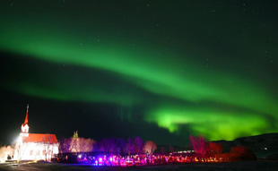 aurora-borealis-thingvellir-church-iceland