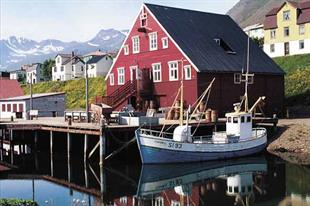 Siglufjordur Fishing Village