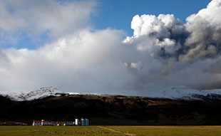 Volcanic Eruption in Iceland