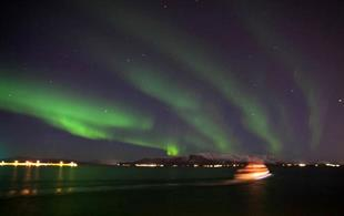 Northern Lights by Boat from Reykjavik Harbour