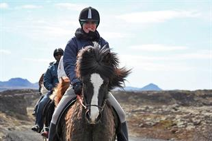 Lava Horse Riding Tour