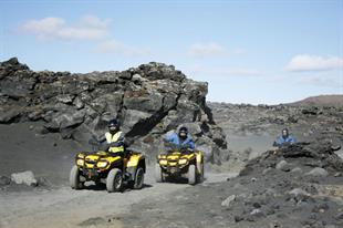 Volcanic Safari ATV-Quad Tour