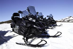 1/2 Hour Snowmobile tour from Lake Myvatn