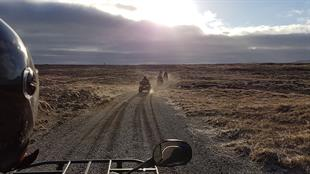Black Beach ATV Tour from Þorlákshöfn