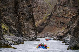 River Rafting The East Glacial River