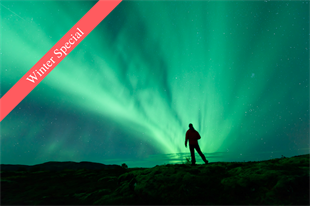 Northern Lights, Lava Tunnel and Skyr Tasting Tour from Reykjavik