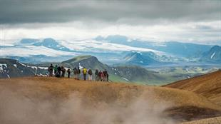 The Famous Laugavegur  Hike Trail 5 Day Trek