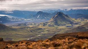 Landmannalaugar to Thorsmork 4 Day Trek