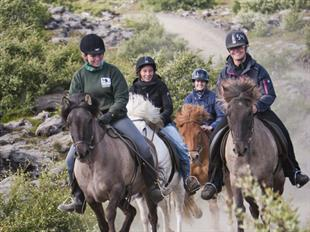 Viking Horse Riding Tour